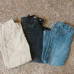 Bundle of toddler jeans/pants